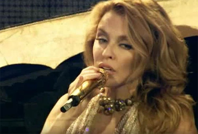 Music Friday: Kylie Minogue 'Shines On and On and On' in 2007's 'White Diamond'
